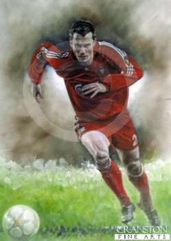 Jamie Carragher - Liverpool No.23 by Stephen Doig.