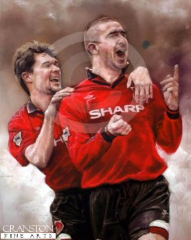 Champions Forever - Keane and Cantona by Stephen Doig.