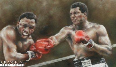 Thrilla - Ali v Frazier 1975 by Stephen Doig.
