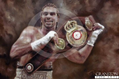 David Haye - WBA World Heavyweight Champion by Stephen Doig.