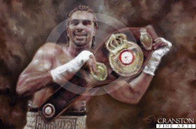 David Haye - WBA World Heavyweight Champion by Stephen Doig.