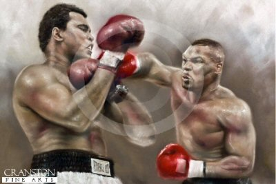 Billion Dollar Battle - Ali v Tyson by Stephen Doig.