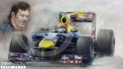British Grand Prix 2010 - Mark Webber by Stephen Doig.