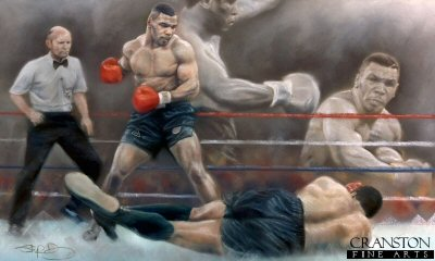 Dawn of a New Era - Tyson v Berbick by Stephen Doig.