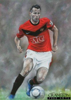 Ryan Giggs - United Number 11 by Stephen Doig.