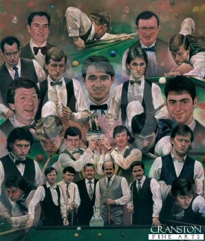 Masters of the Green Baize by Stephen Doig.