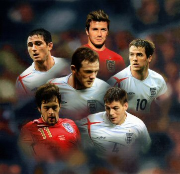 Beckhams Golden Generation by Darren Baker.