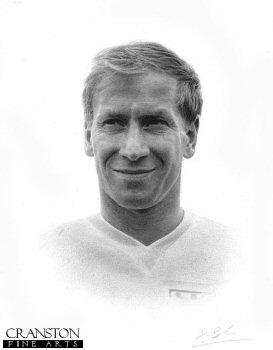 Bobby Charlton by Darren Baker. (P)