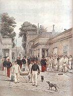 Infanterie de Ligne - La Caserne by Edouard Detaille (P)