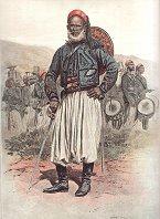 Officier Indigene de Tirailleurs Algeriens - Tenue de Campagne by Edouard Detaille (P)