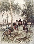 Etat Major dun General Division by Edouard Detaille (P)