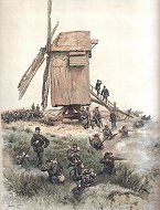Chasseurs a Pied - Grandes Manoeurves by Edouard Detaille (P)