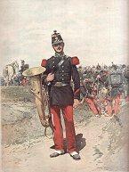 Infanterie de Ligne - Musicien by Edouard Detaille (P)