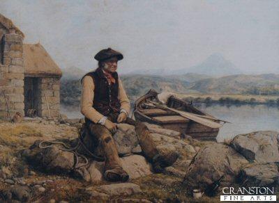 The Ferryman by William Dyce.