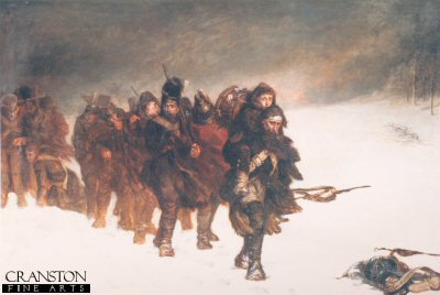 On the March From Moscow by John Laslett Potts.