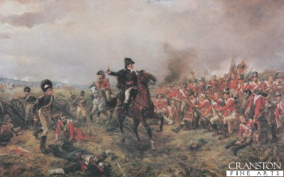 The Battle of Waterloo by Robert Hillingford (C)