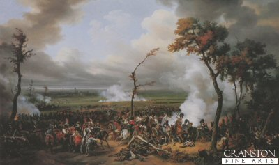 The Battle of Hanau by Horace Vernet.