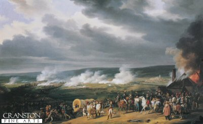 The Battle of Jemappes by Horace Vernet (B)