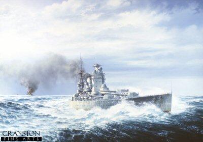 HMS Rodney by Brian Wood.