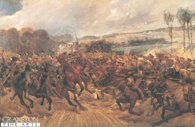 Charge of the 9th Lancers by Richard Caton Woodville,