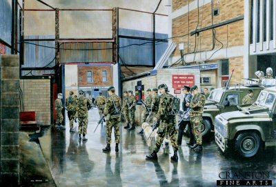Belfast Patrol by David Rowlands. (GS)