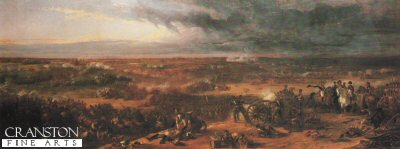 The Battle of Waterloo by Sir William Allen (B)