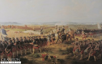 The Battle of Fontenoy by Felix Philippoteaux.