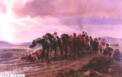 Halt on a Forced March by Lady Elizabeth Butler.