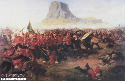 Battle of Isandhlwana by Charles Fripp.