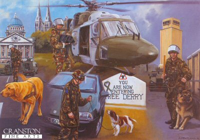Search and Secure, Army Dog Unit by David Pentland. (PC)