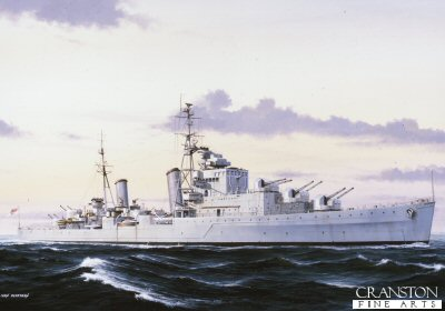 HMS Dido by Ivan Berryman. (PC)