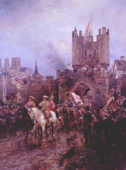 The Surrender of York to the Roundheads, by Ernest Crofts.