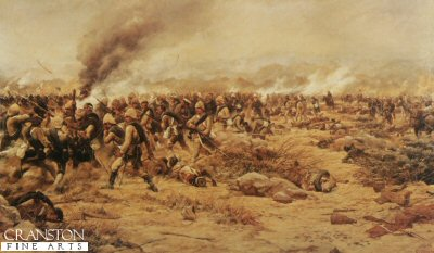 Battle of Tamaii by G Douglas Giles.