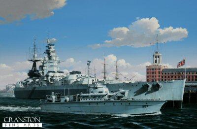 HMS Nelson by Ivan Berryman. (PC)