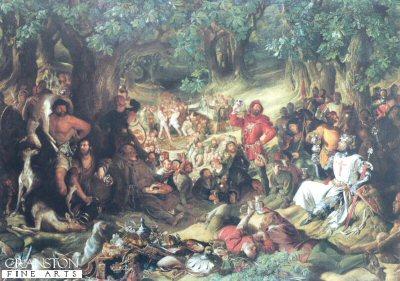 Robin Hood by Daniel Maclise.