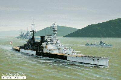 HMS Repulse by Ivan Berryman (GS)