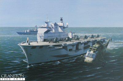 HMS Ocean by Ivan Berryman (GL)