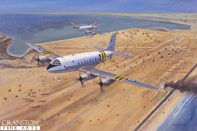 Suez Drop, 5th November 1956 by David Pentland.
