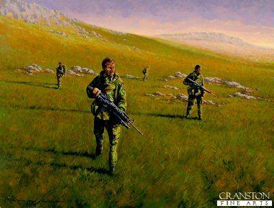 Is the Mountain Clear. G Squadron 22 SAS, Mount Kent, Falklands War 1982 by Graeme Lothian (GL)