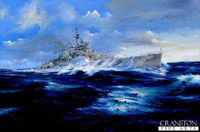 HMS Renown by Randall Wilson.