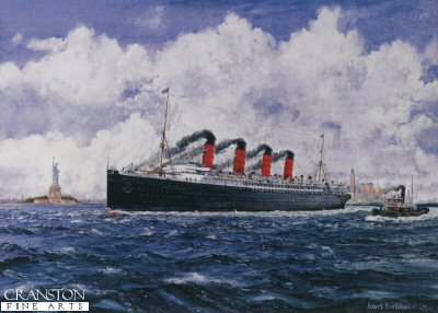 The Lusitania by Robert Barbour.