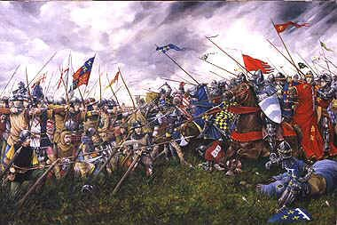 The Battle of Agincourt by Brian Palmer.
