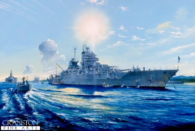 USS Mississippi BB41 by Randall Wilson (GS)