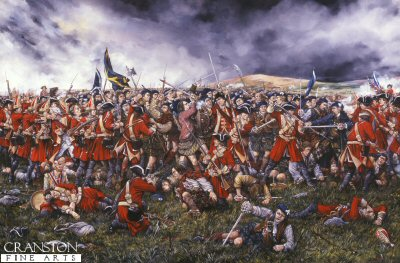 Battle of Culloden by Brian Palmer. (Y)