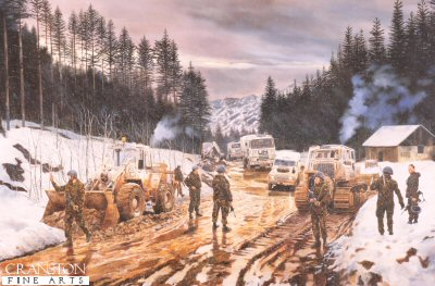 Royal Engineer Regiment by David Rowlands.