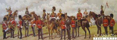 Irish Regiments in the British Army by Richard Simkin.