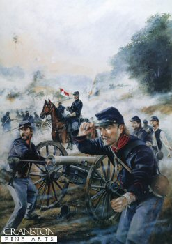 Union Artillery at the Battle of Malvern Hill., July 1862 by Chris Collingwood (GS)