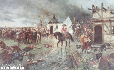 Wallenstein, A Scene From the Thirty Years War by Ernest Crofts (GL)