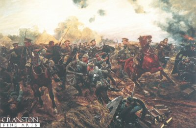 The First of the European War by Richard Caton Woodville. (Y)