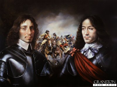 Opposing Generals of Horse - Battle of Marston Moor by Chris Collingwood. (GS)